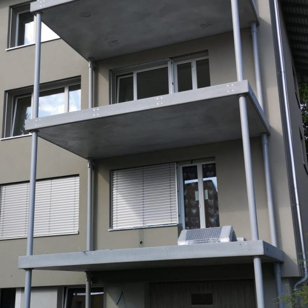 Beton plate fur Balkon