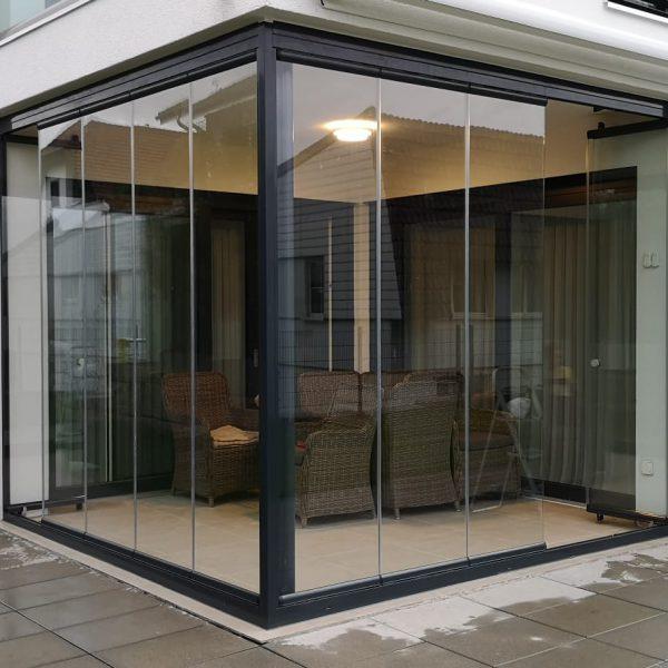 Seitenverglasung - Rahmenlose Verglasung